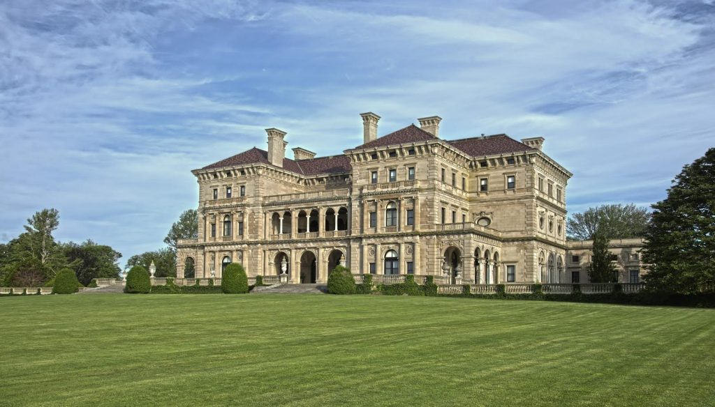 Beneath The Breakers Tour Vandebilt Mansion Newport Rhode Island