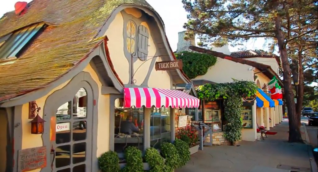 Carmel-by-the-Sea Shops and Restaurants