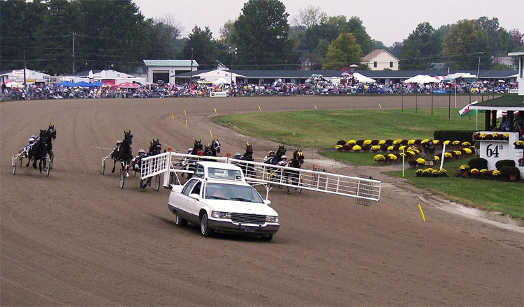 Little Brown Jug Race Trotters