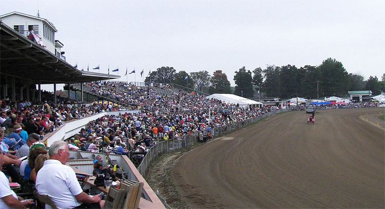 "Historic Harness ""Little Brown Jug"" Race in Delaware, Ohio"
