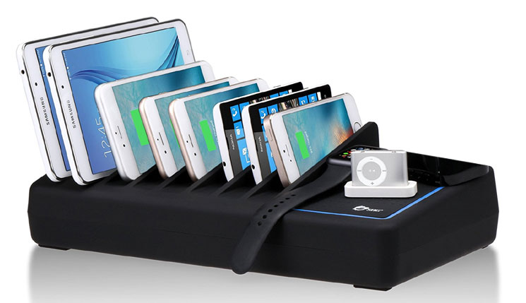 The SIIG Smart 10-Port USB Charging Station