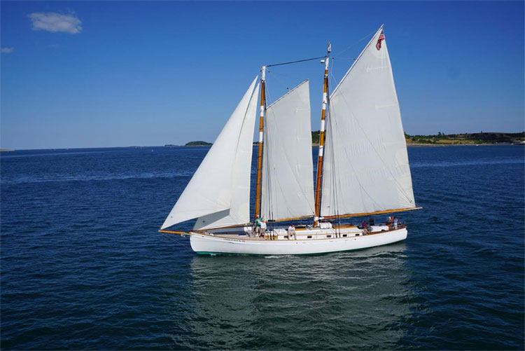 Sail on the Schooner Adirondack III During Sail Boston
