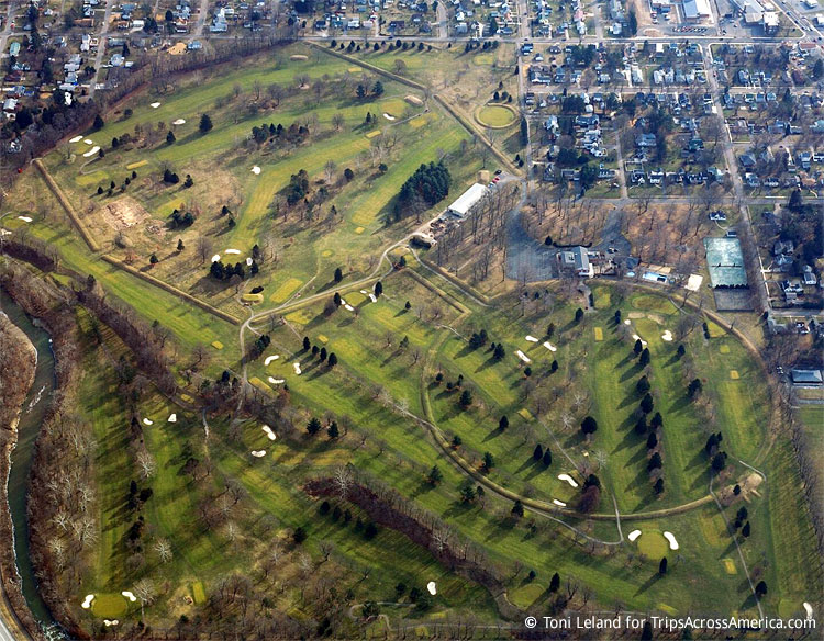 Newark Ohio Earthworks Mounds