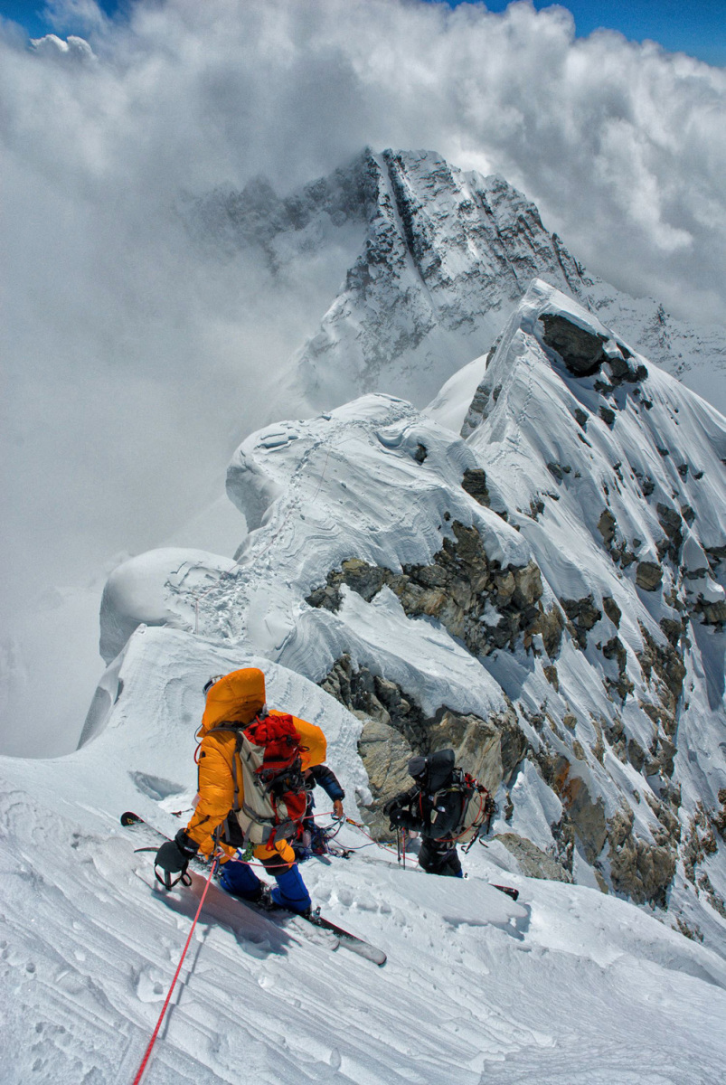 Copyright Jimmy Chin Hillary Step