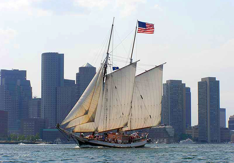 Schooner Liberty Clipper Boston Tall Ships Festival