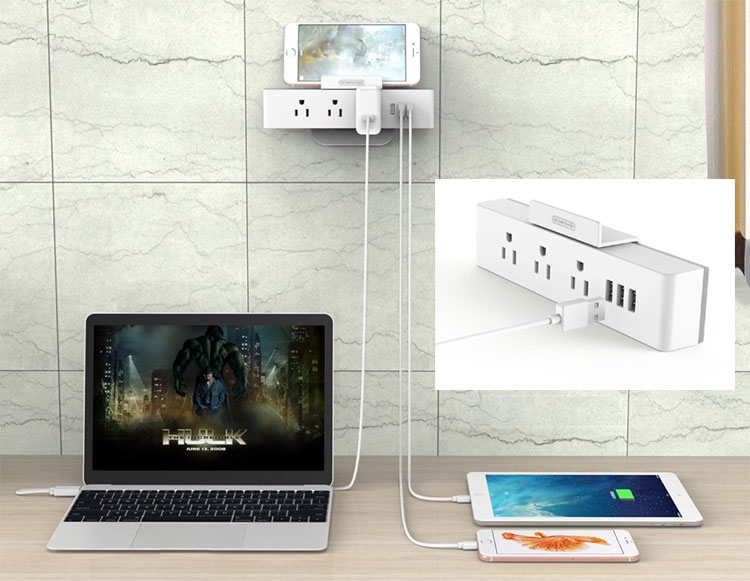 NTONPOWER Wall Plug Power Strip Charger