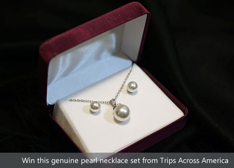 Pearl Necklace and Earring Set Giveaway